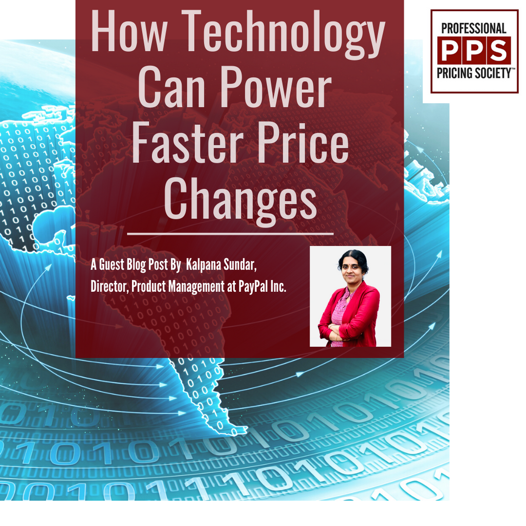 How Technology Can Power Faster Price Changes