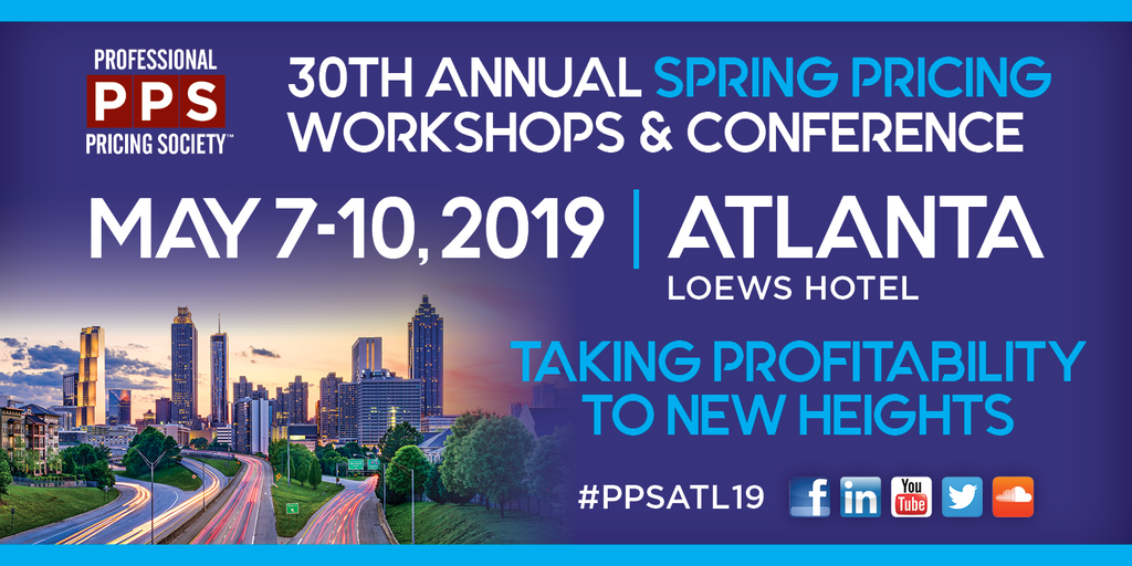30th Annual Spring Pricing Workshops & Conference In Atlanta, GA