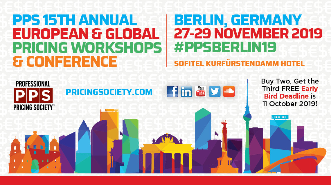5th Annual European & Global Pricing Workshops & Conference