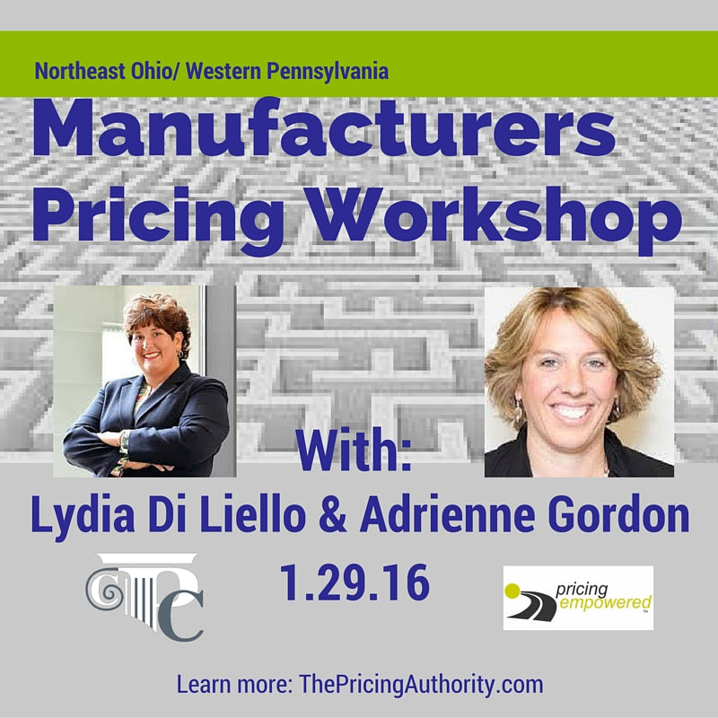 Pricing Manufacturer's Wkshop 1.0