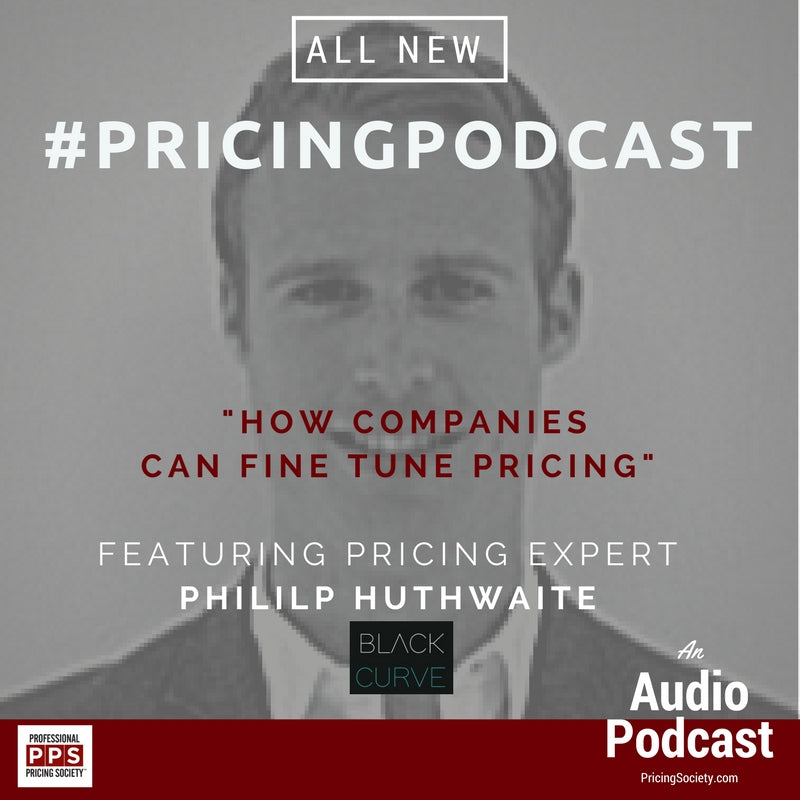 Pricing Podcast with BlackCurve pricing software on fine-tuning pricing