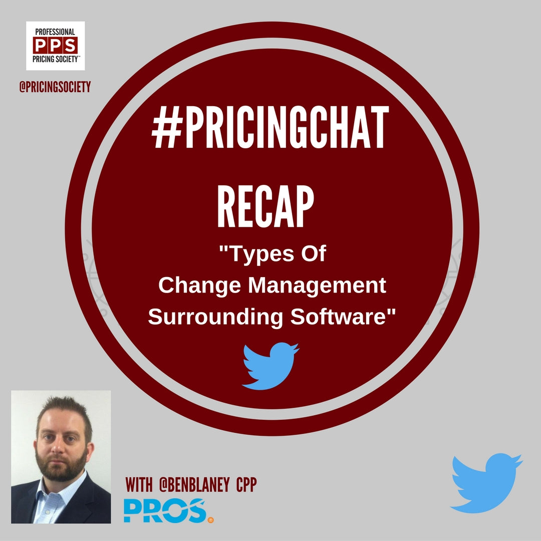 Types of Change Management Surrounding Pricing Software