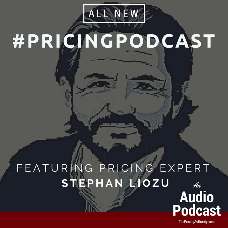 Stephan Liozu #PricingPodcast April