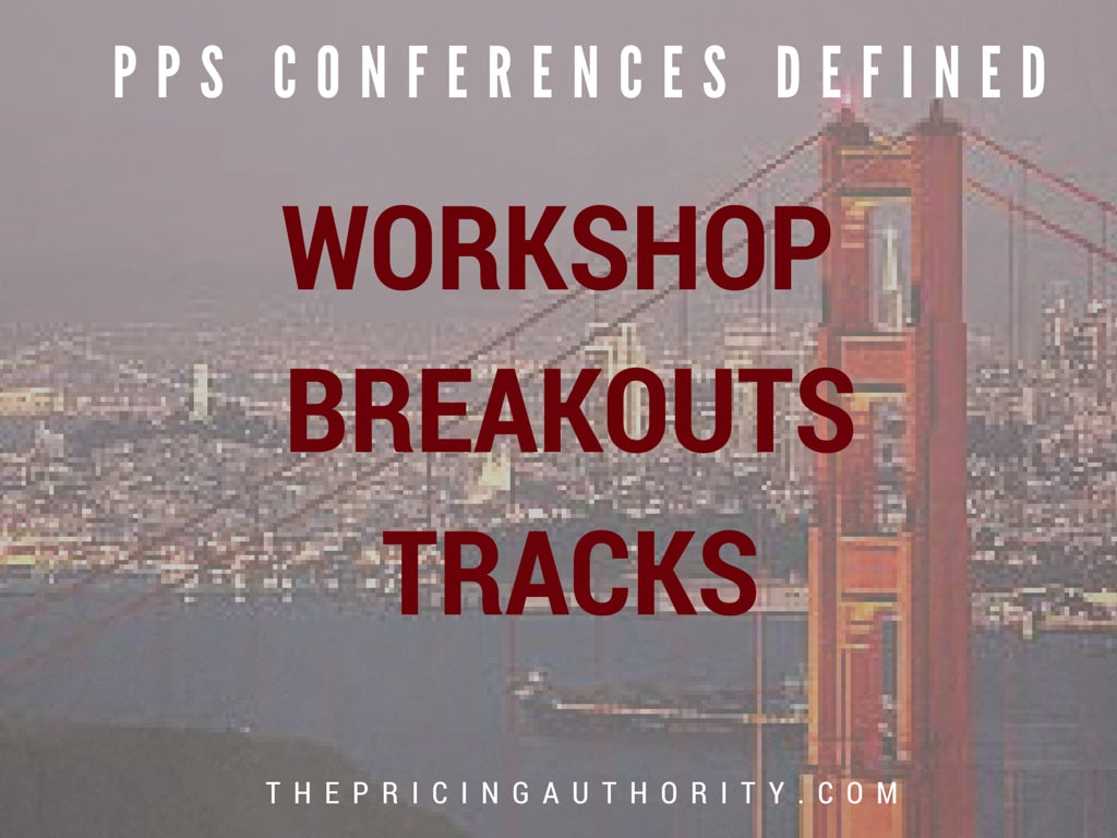 Workshops breakouts tracks
