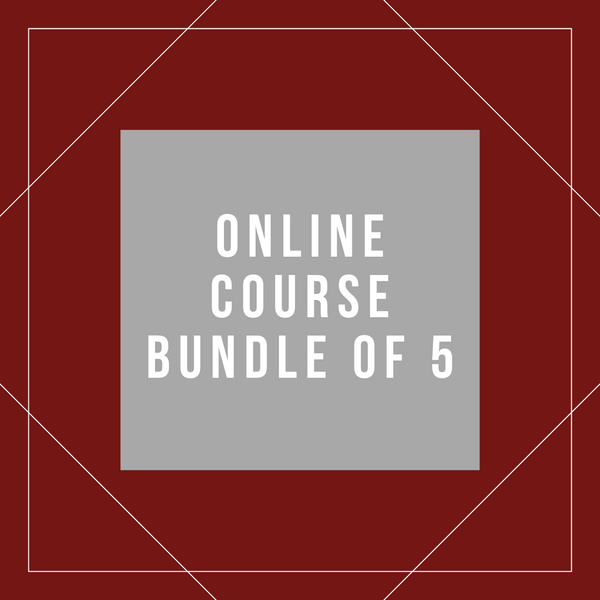 Online Course Bundle of 5