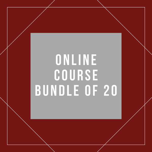 Online Course Bundle of 20