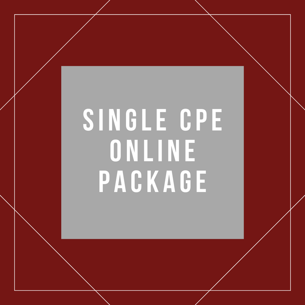 Single Online CPE Package