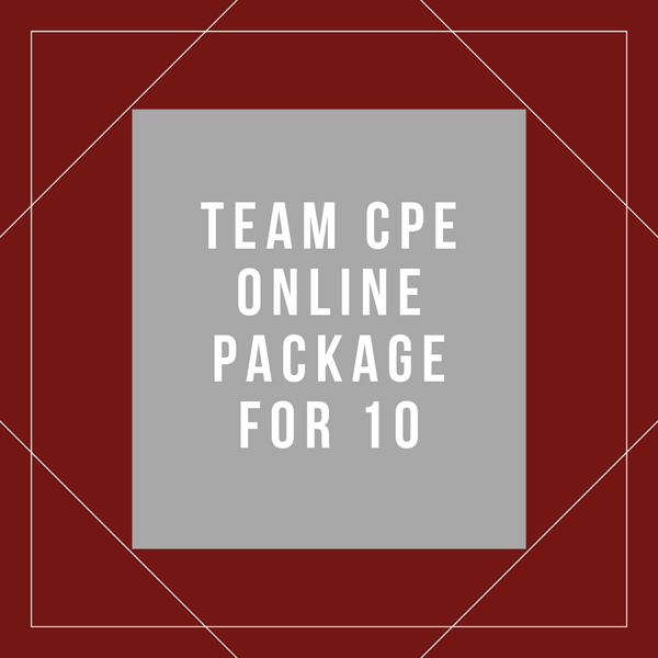 Team Online CPE Package for 10