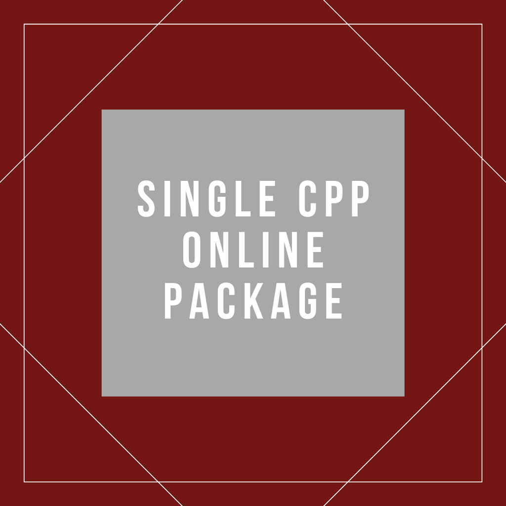 Single Online CPP Package
