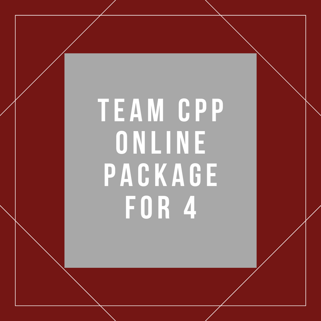 Team Online CPP Package for 4