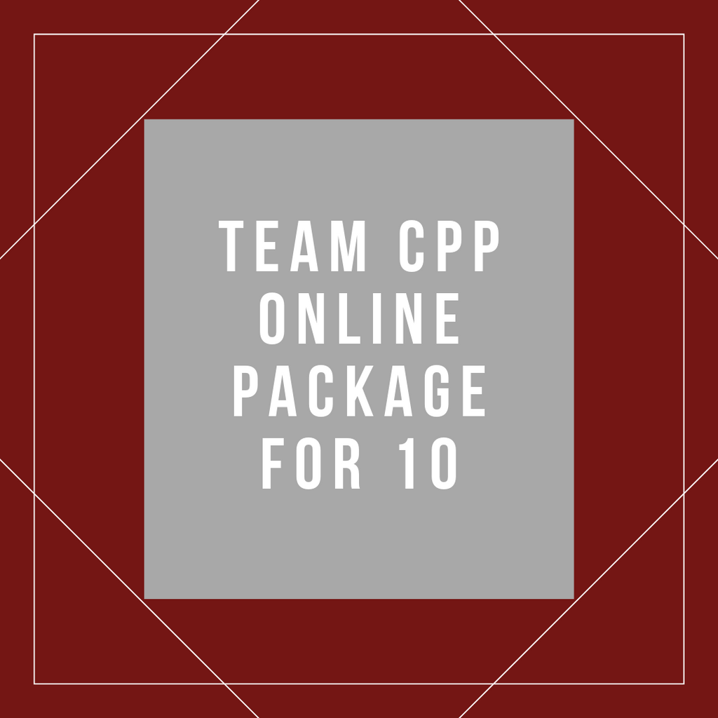Team Online CPP Package for 10
