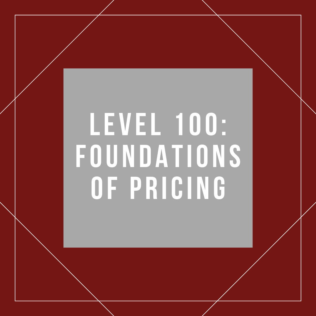 pricing professional