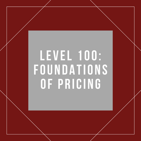 Best Practices in Pricing Analytics - (Reuben Swartz)