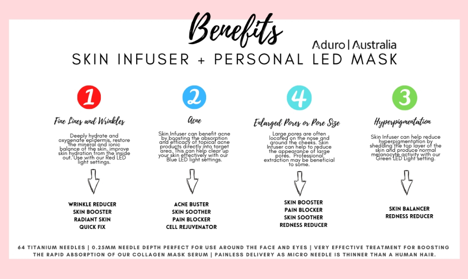skin infuser benefits