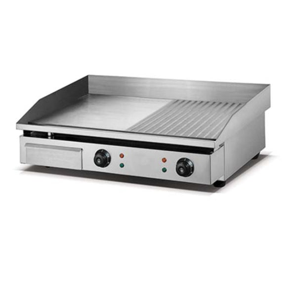 Electric Griddle with Ribbed lines