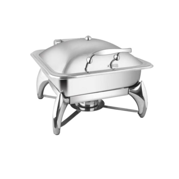 Square SS. Lid Chafer W/Smart Legs