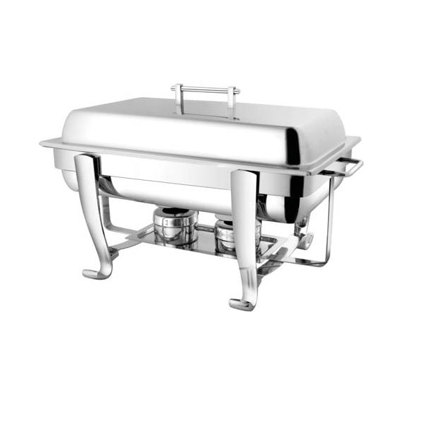 Rectangular Chafing Dish with Chrome Legs