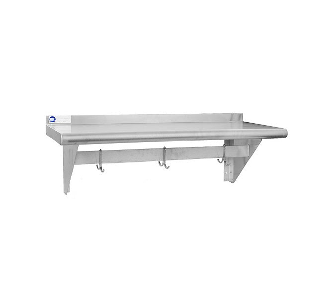 SS Wall Shelves & Dunnage Rack