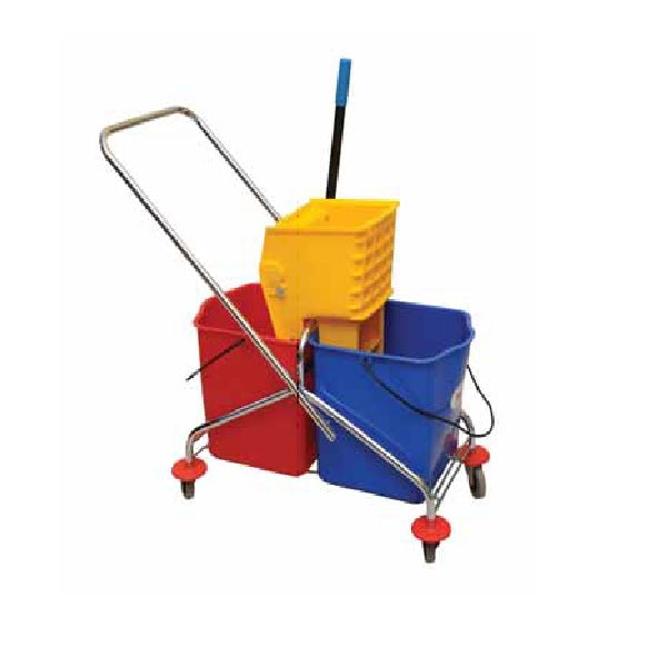 Double Buckets Mop Wringer
