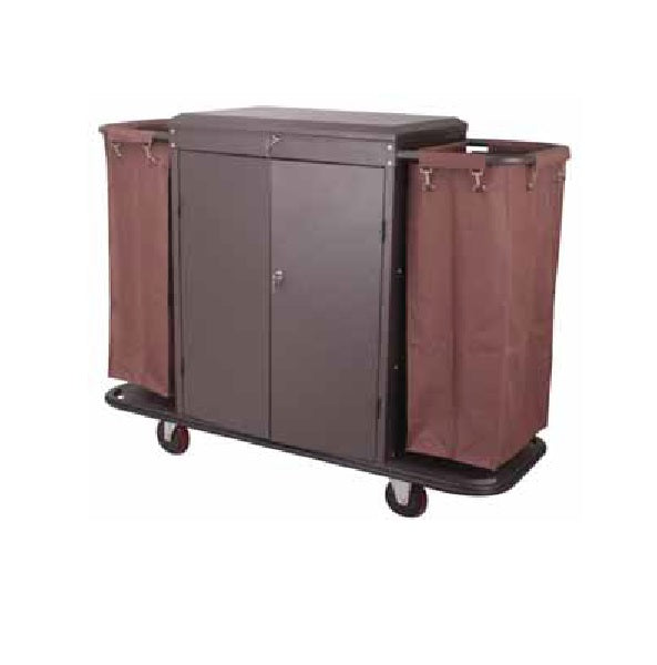 House Keeping Cart W/Cover & Door