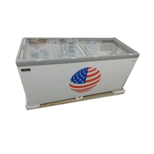 CHEST FREEZER(GLASS TOP) 550 Litres