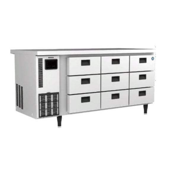 UnderCounter Chiller with Drawers