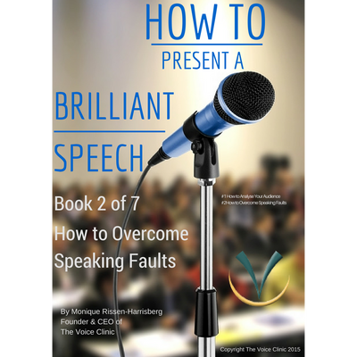How to Present a Brilliant Speech 2/7 - The Voice Clinic™