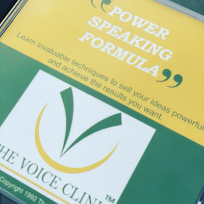 Executive PowerSpeaking Formula Digital Download - The Voice Clinic™