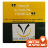 Premier Speak Performance Hamper - The Voice Clinic