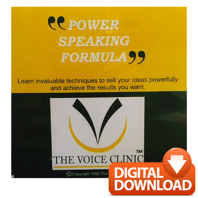 Premier Speak Performance Hamper - The Voice Clinic™