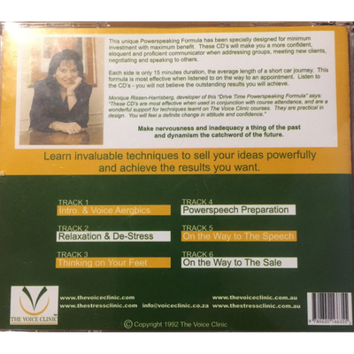 Executive PowerSpeaking Formula CD Program - The Voice Clinic