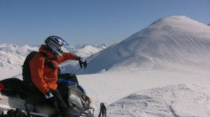 Snowmobiling at its best!