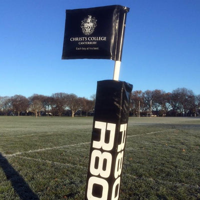 Touchline Flag Pole Protector-R80RugbyWebsite-Speed Power Stability Systems Ltd (R80 Rugby)