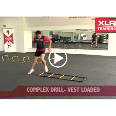 Mini Hurdle Training Drills Online Video-R80RugbyWebsite-Speed Power Stability Systems Ltd (XLR8)