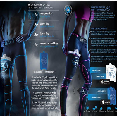 Recoverite R100 Womans Ice Compression Tights