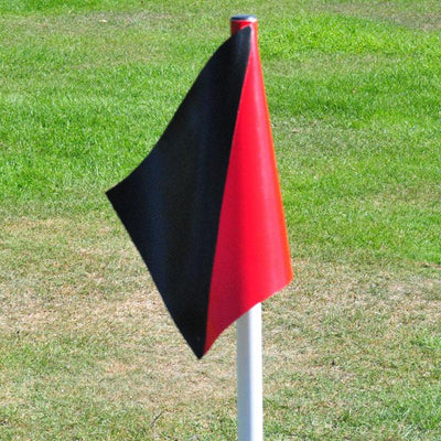 PVC Touchline Flag Two Colour-R80RugbyWebsite-Speed Power Stability Systems Ltd (XLR8)