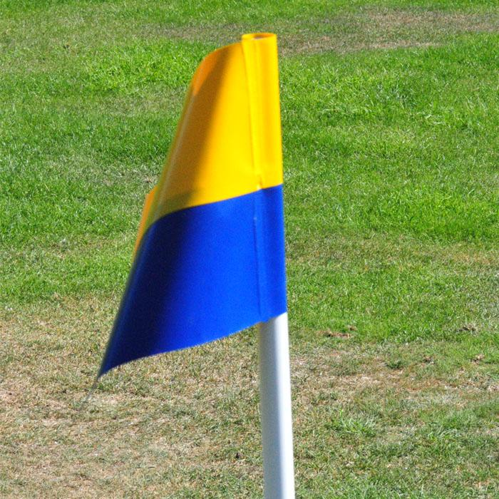 Two Colour PVC Flags
