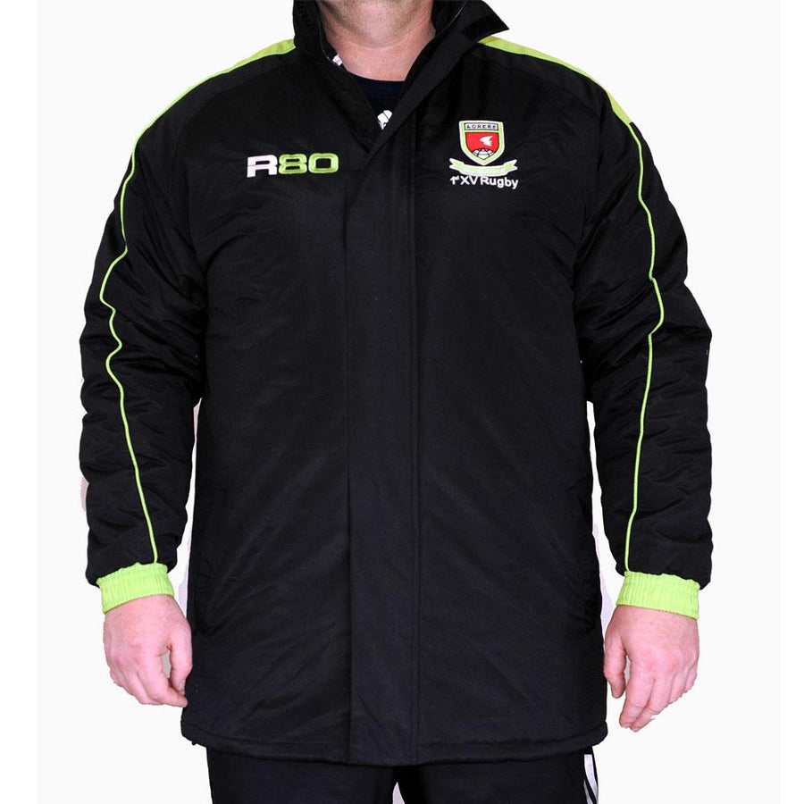 Management / Coaches Jacket-R80RugbyWebsite-Speed Power Stability Systems Ltd (XLR8)