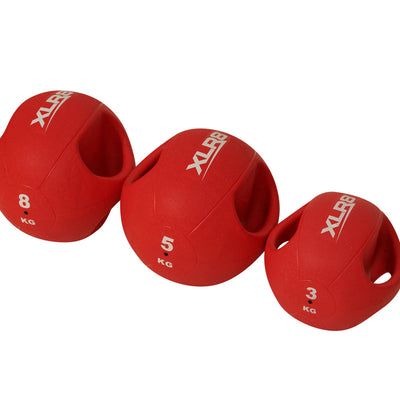 XLR8 Double Grip Medicine Balls-R80RugbyWebsite-Speed Power Stability Systems Ltd (XLR8)