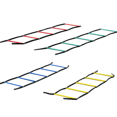 XLR8 Multi-Coloured Fastfoot Ladder-R80RugbyWebsite-Speed Power Stability Systems Ltd (R80 Rugby)