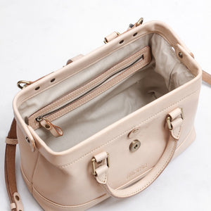 Doctor Bag - BH22 (Natural Vegetable Tanned Leather)