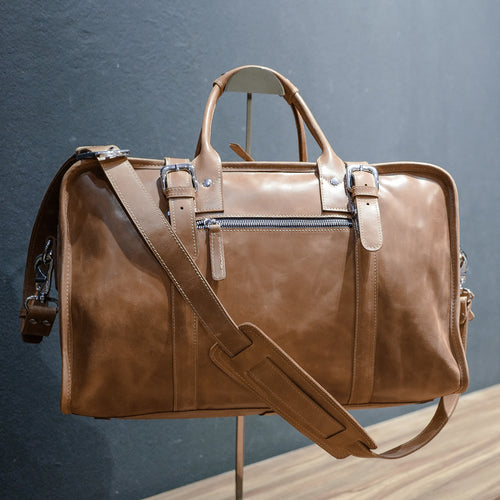 DB92 | Duffel Bag (Premium Light Aniline Leather)
