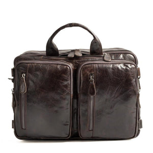 BL32 | Multi-Functional Leather Bags - Bagspace
