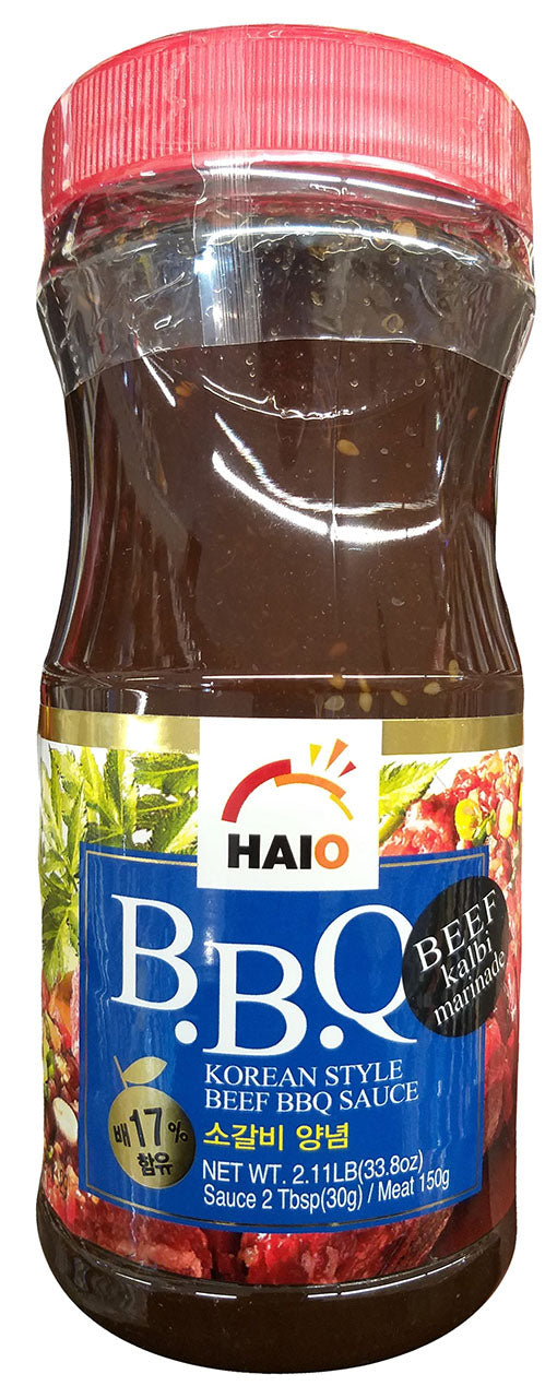 Haioreum Korean Style Beef Bbq Sauce Kalbi Marinade 2 1 Pounds Pa Mighty Depot