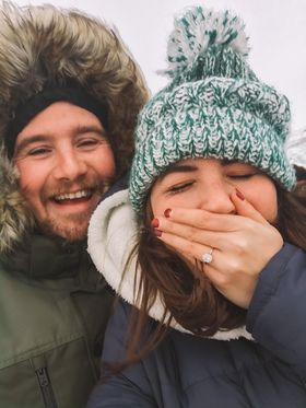 Lockdown Love: Lauren & Brian's Icelandic Engagement