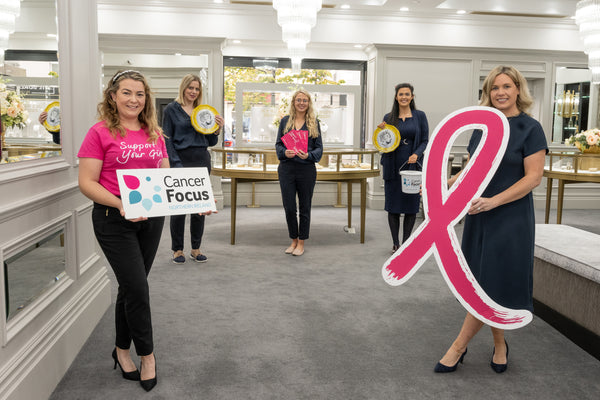 Glittering PINK Partners with Cancer Focus NI