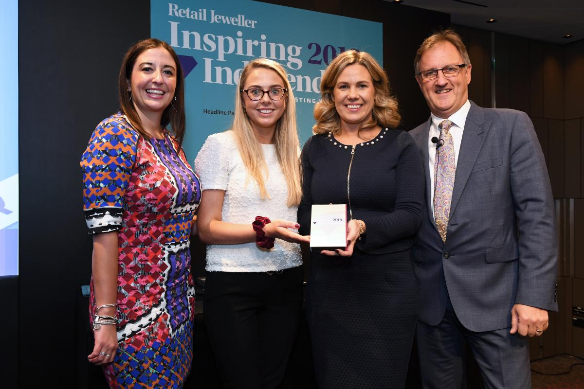 Jack Murphy Jewellers Named Best Retail Jeweller in Ireland and Scotland 2019!
