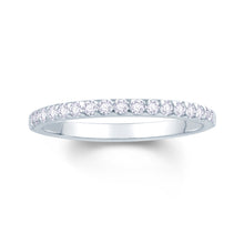 Load image into Gallery viewer, Platinum 0.15ct Triangle Claw Set 1.7mm Diamond Ring
