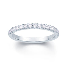 Load image into Gallery viewer, Platinum 0.20ct Split Claw Set 1.7mm Diamond Ring