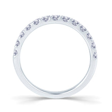 Load image into Gallery viewer, Platinum 0.55ct Split Claw Set 2.5mm Diamond Ring.